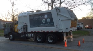 City of Oberlin refuse truck
